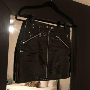 rag & bone Skirts - 💥SOLD💥Rag & Bone Racer Skirt Patent Leather